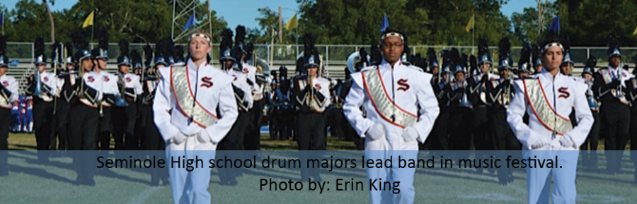 SPOTLIGHT: PRIDE OF THE TRIBE DRUM MAJORS LEAD BAND TO SUCCESS