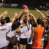 Juniors won the 2015 Powderpuff game with a score of 30-8.
