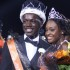 The homecoming king and queen were announced at Friday's football game.