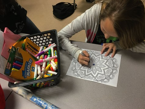 ADULT COLORING BOOKS BRIGHTEN SHELVES