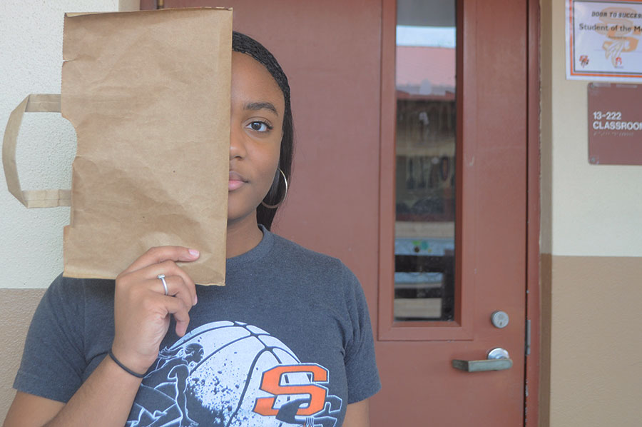 The Brown Paper Bag Test, used during the 20th century, is a form of discrimination based on skin color.
