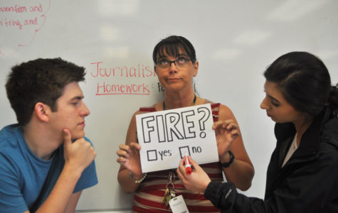 STUDENTS WILL VOTE TO FIRE TEACHERS