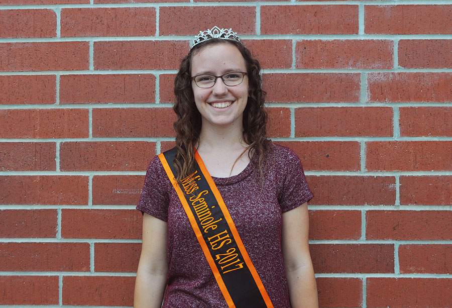 Junior Amy Sheffield is the new Miss SHS 2017.
