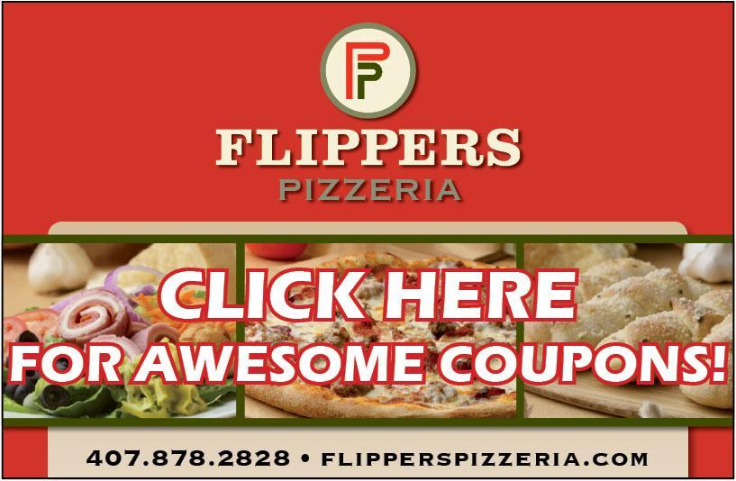 Flippers Pizza Ad The Seminole Newspaper