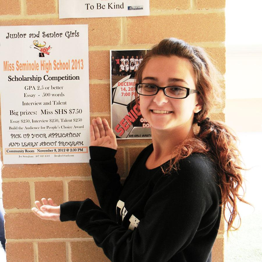 WHO WILL BE NEXT PAGEANT QUEEN? MISS SHS