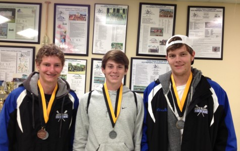 SEMINOLE'S ROWERS: ALEX LEVIN, BRANDON BARNETT, CHRIS FIELD