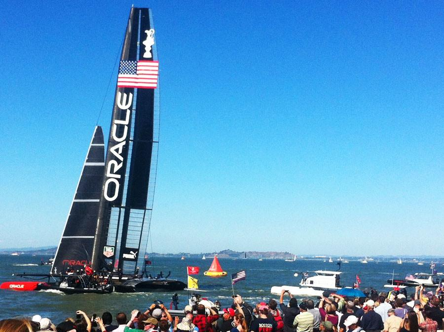 U.S. SAILS TO VICTORY IN AMERICA'S CUP
