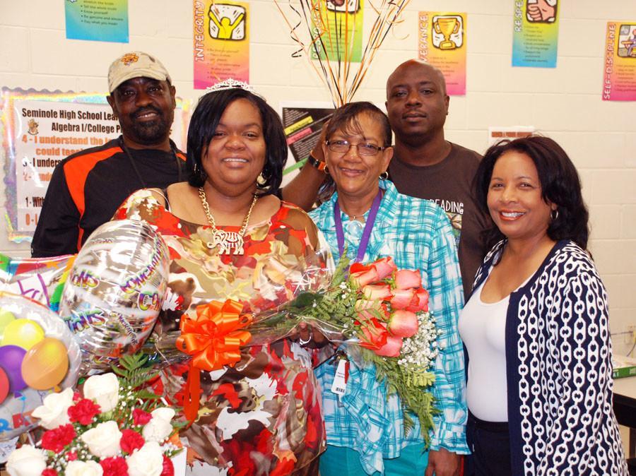 SPOTLIGHT: SEMINOLE HIGH SCHOOL WELCOMES 2013 TEACHER OF THE YEAR, MS. MISTY BEASLEY