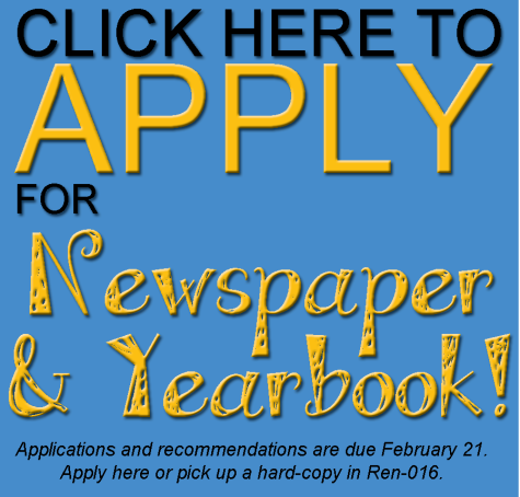 NEWSPAPER and YEARBOOK APPS ARE AVAILABLE!