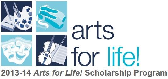 Arts for Life! Scholarship Program