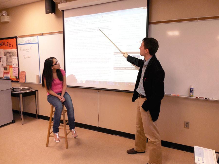 TEACHERS TEACH EACH OTHER IN NEW OBSERVATION PROGRAM
