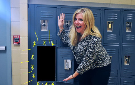 MS. TURNER HOSTS CONTEST TO FIND STUDENT WITH MOST CREATIVE LOCKER