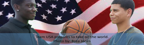 USA BASKETBALL TEAM FACES OFF AGAINST WORLD