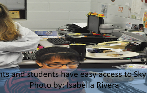 SKYWARD AND REMIND101 HELPS STUDENTS SHOOT FOR SUCCESS