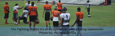 SEMINOLE FOOTBALL CHARGES AHEAD