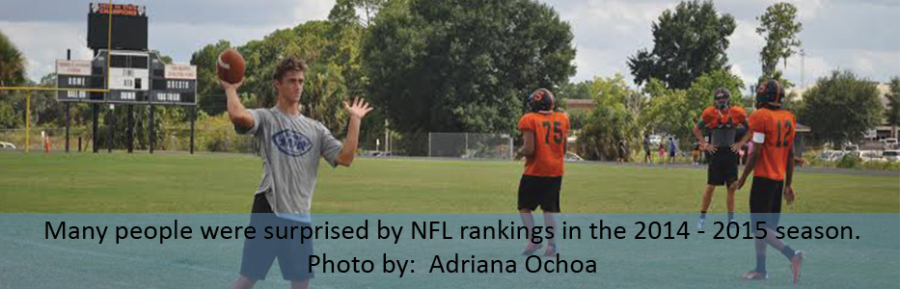 NFL RANKINGS ARE UNPREDICTABLE AS SEASON HEATS UP