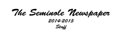 The Seminole Newspaper Staff 2014-2015