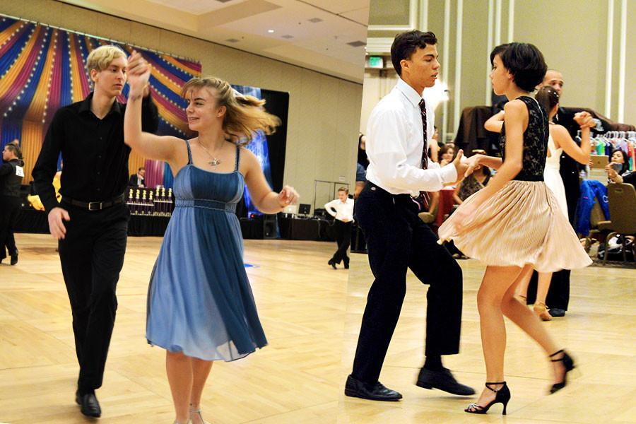 The Ballroom Dance Club participated in Orlando's annual Ballroom Blitz competition.