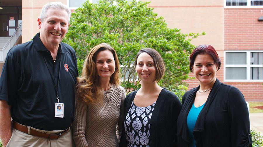Natalie Lauber, Kelly Meahl, Veronica Sarmiento, and Robert Traina were the nominees for 2016s Teacher of the Year.
