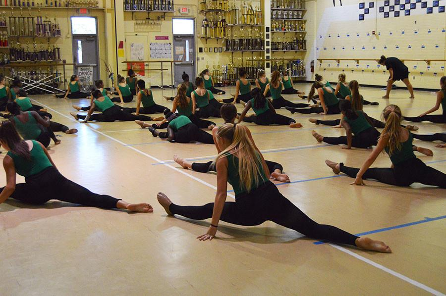 The Seminole Dazzlers contribute time and effort towards performances.