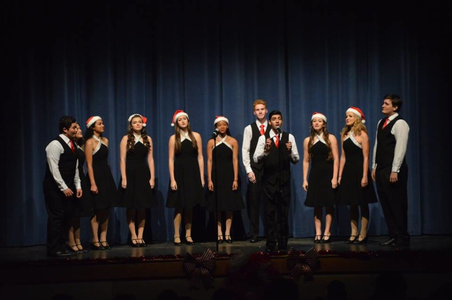 After weeks of practice and anticipation, the Seminole High School Chorus performed their Holiday Concert.