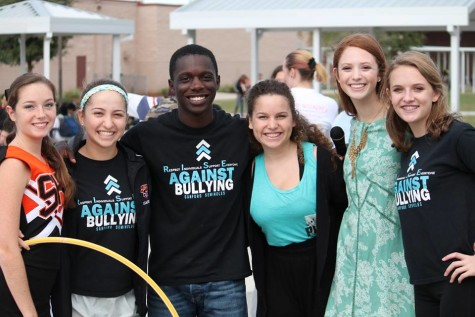 LEADERSHIP HOLDS ANTI-BULLYING PEP RALLY