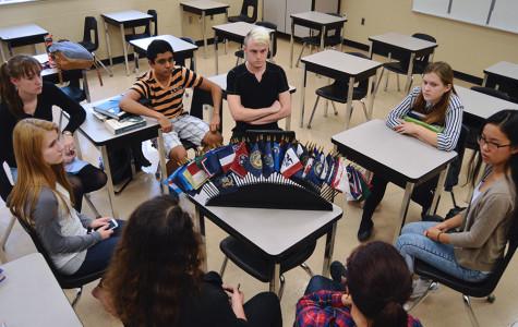 MODEL UNITED NATIONS KEEPS STUDENTS INFORMED
