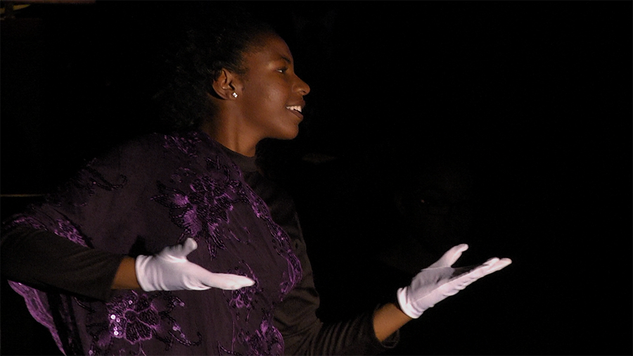 The Black History Committee held a poetry night to lead into Black History Month.