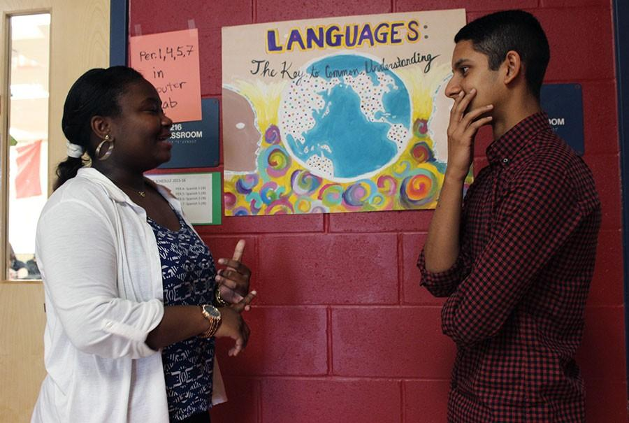 Students+prepared+for+the+World+Languages+Festival.