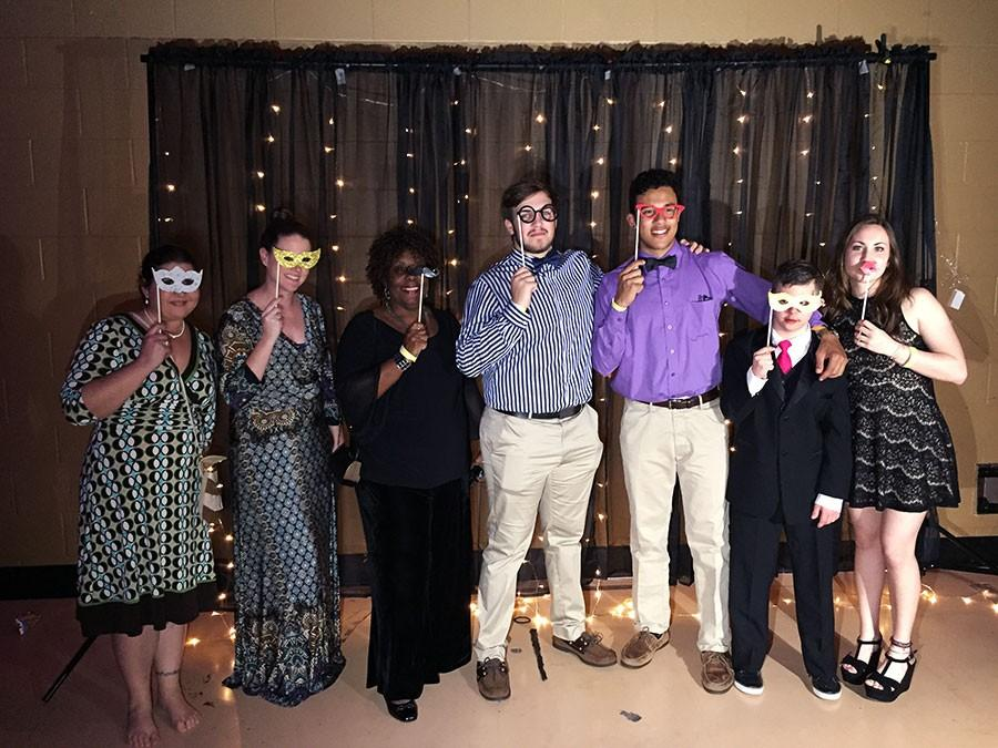 The Seminole High Best Buddies club attended the annual Friendship ball.
