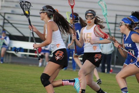 Seminole's JV Girls Lacrosse wins a home game.