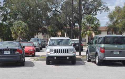 NEW PARKING LOT CURBS DEMAND FOR PARKING