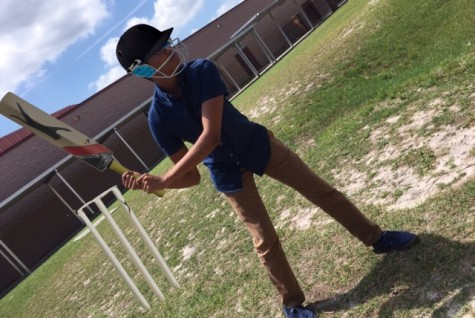 A cricket team is soon to come to SHS.