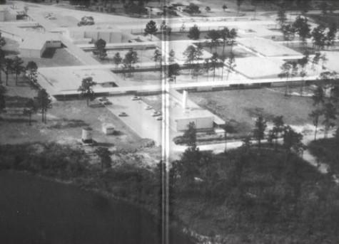 Seminole High School's campus in 1962.