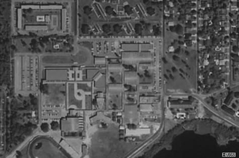 Seminole High School's campus in 1994.