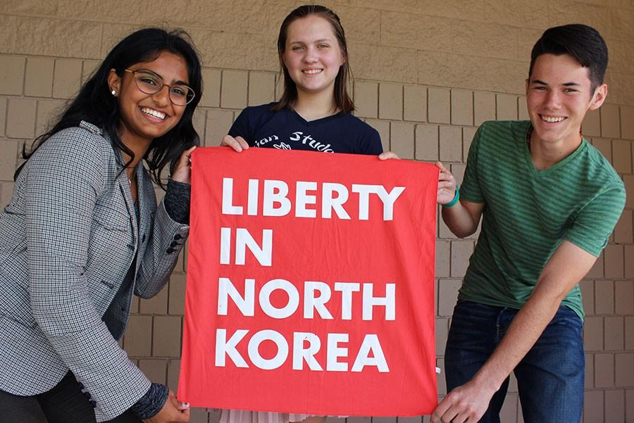 The Liberty in North Korea club at Seminole spreads awareness and raises funds to help North Korean refugees.