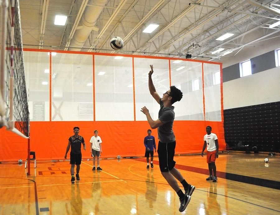The SHS Boys Volleyball team has remained diligent throughout the season.