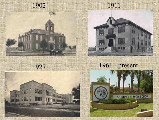 Seminole High school has changed immensely over the years.