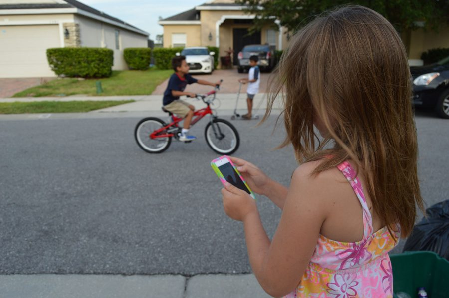The younger generation is becoming more familiar with technology advancements.