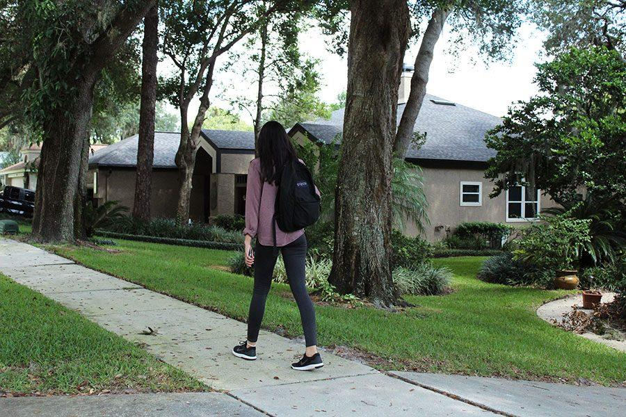 For many students, walking home is a time in which caution is necessary.