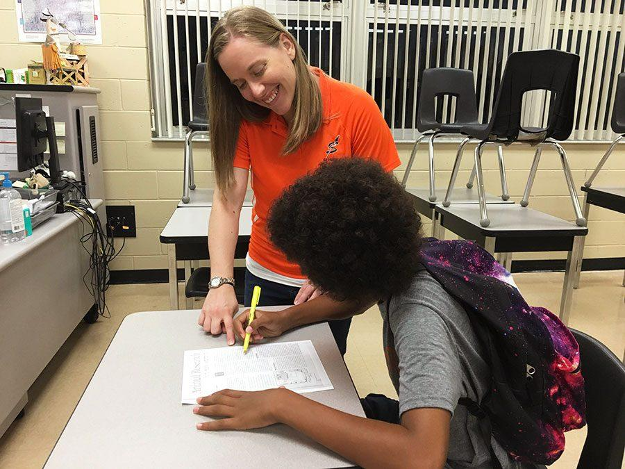 Mrs. Broder mentors students to be successful in psychology.