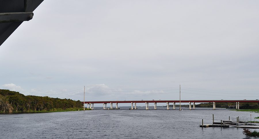 The St. Johns River Veterans Memorial Bridge gave Seminole's DeLand rivalry its name.