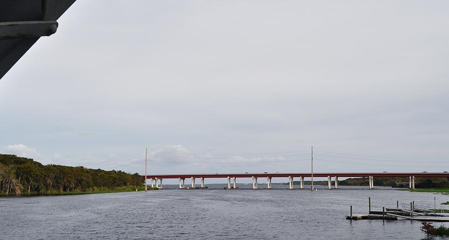 The St. Johns River Veterans Memorial Bridge gave Seminole's DeLand rivalry its name.