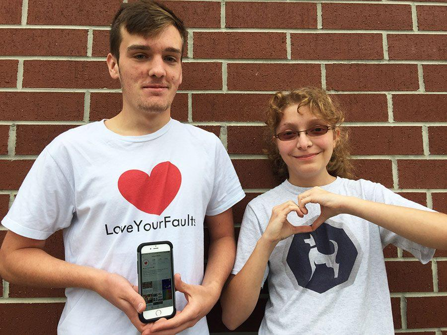 Members of Love Your Faults hope to promote self-love throughout campus.