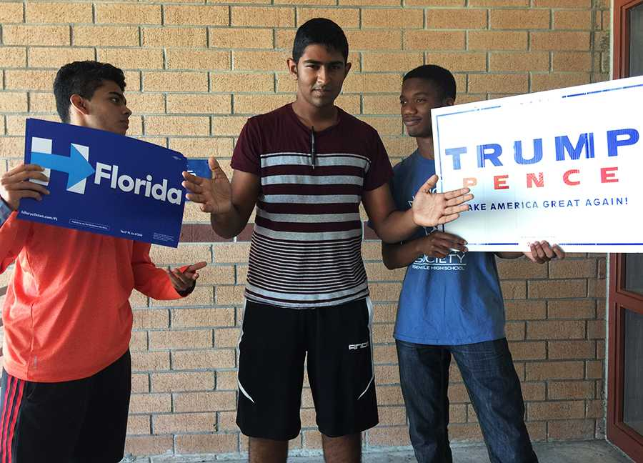 Young voters find it extremely difficult to make a decision between the two candidates this election.