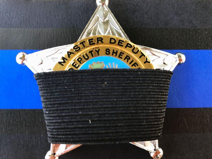 The thin blue line is a representation of fallen officers.