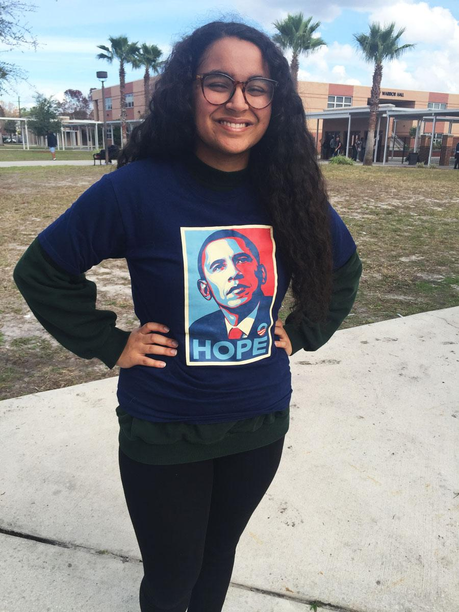 Obama will be remembered by students at Seminole.