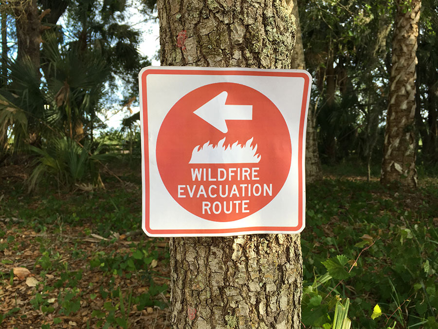 With the amount of wildfires  that have been recently occurring in central Florida, be sure to remain cognizant of the fires nearby.