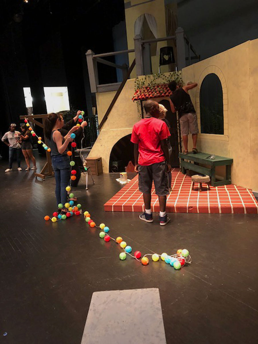 The Seminole High School Theater Company is in full swing preparing for its upcoming play, Much Ado About Nothing.