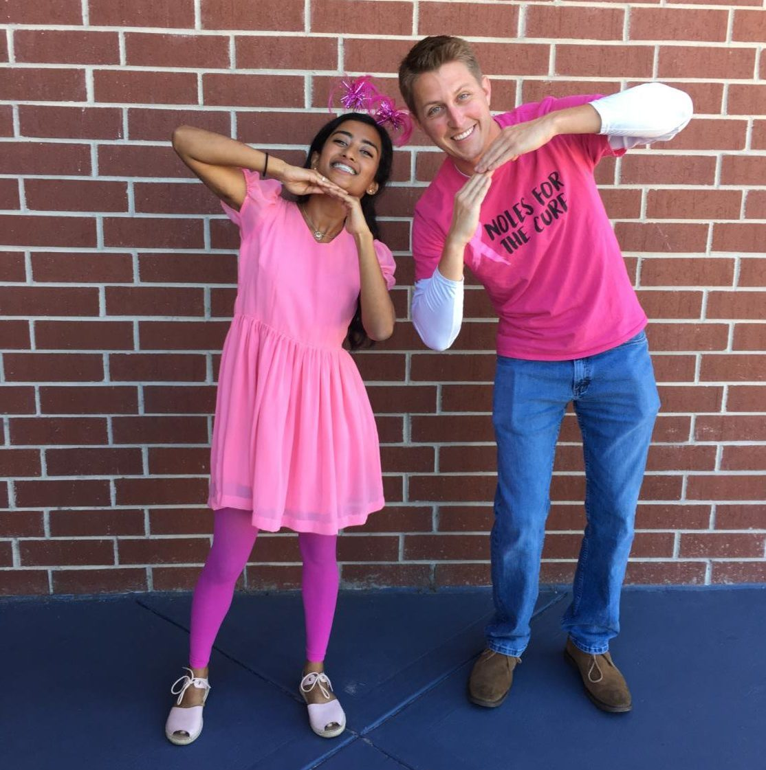 Iffat Nawsheen, along with Leadership teacher Alexander Mack, is dedicated to making this school year memorable.